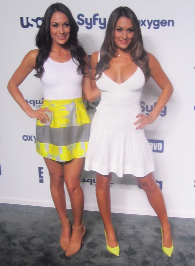 Nikki and Brie Bella - Total Divas Returns for fifth season on E! in NY