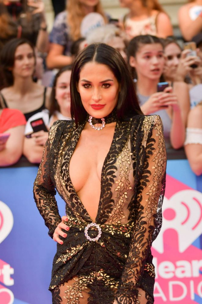 Nikki Bella - 2017 iHeartRadio MuchMusic Video Awards in Toronto