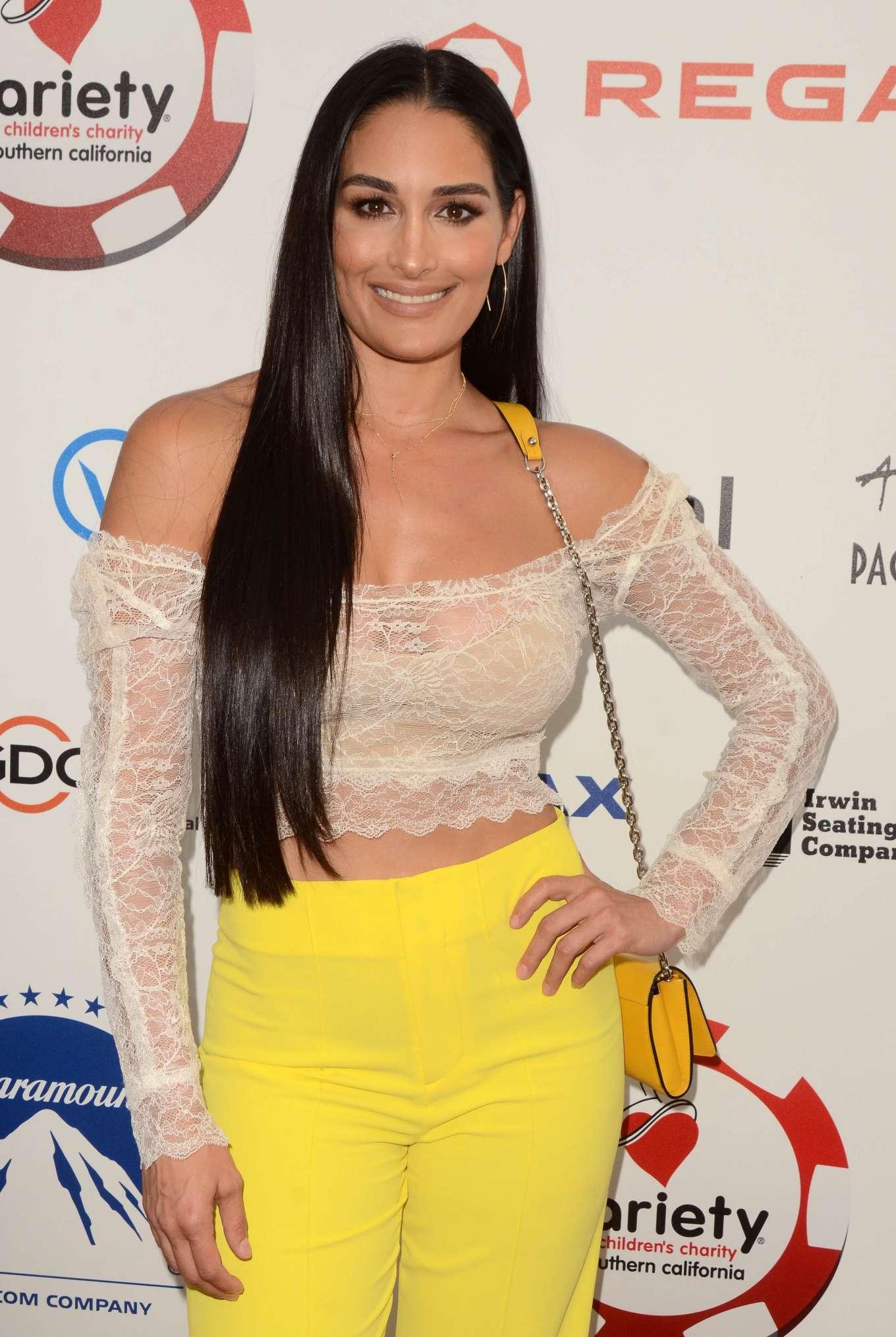 Nikki Bella – 9th Annual Variety Charity Poker and Casino ...