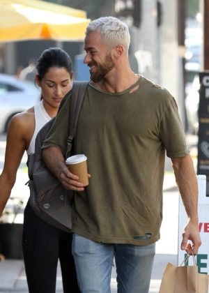 8dbb3456c40ea Nikki Bella and Artem Chigvintsev - Seen arriving for dance practice in Los  Angeles · ShareTweetFeed
