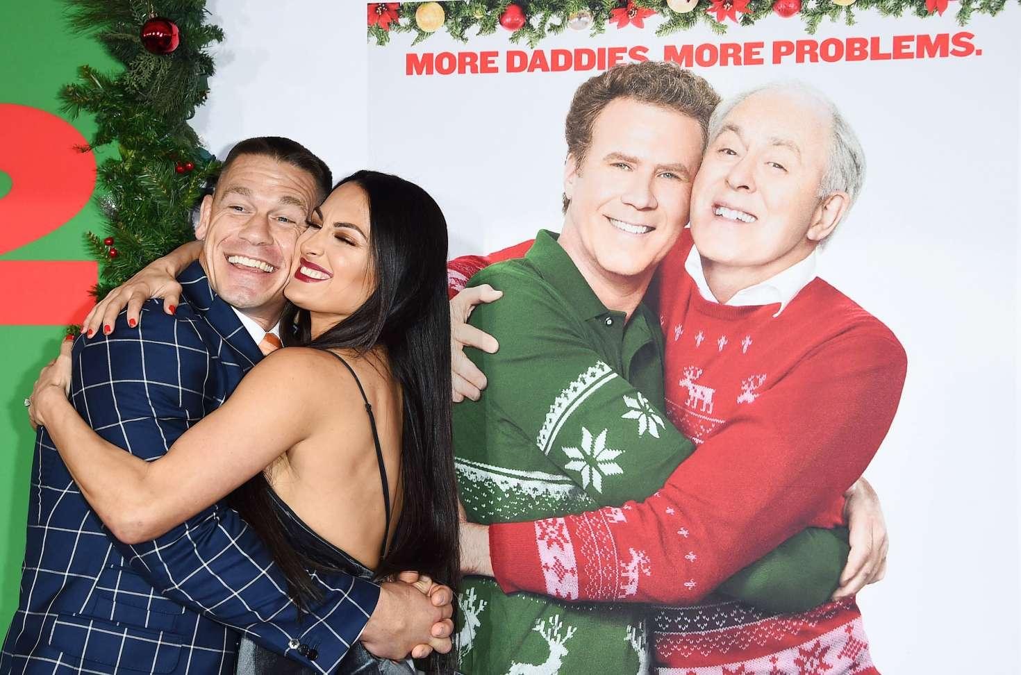 Nikki Bella and John Cena: Daddys Home 2 Premiere -02 - GotCeleb