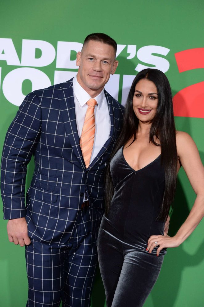 Nikki Bella and John Cena - 'Daddy's Home 2' Premiere in Los Angeles