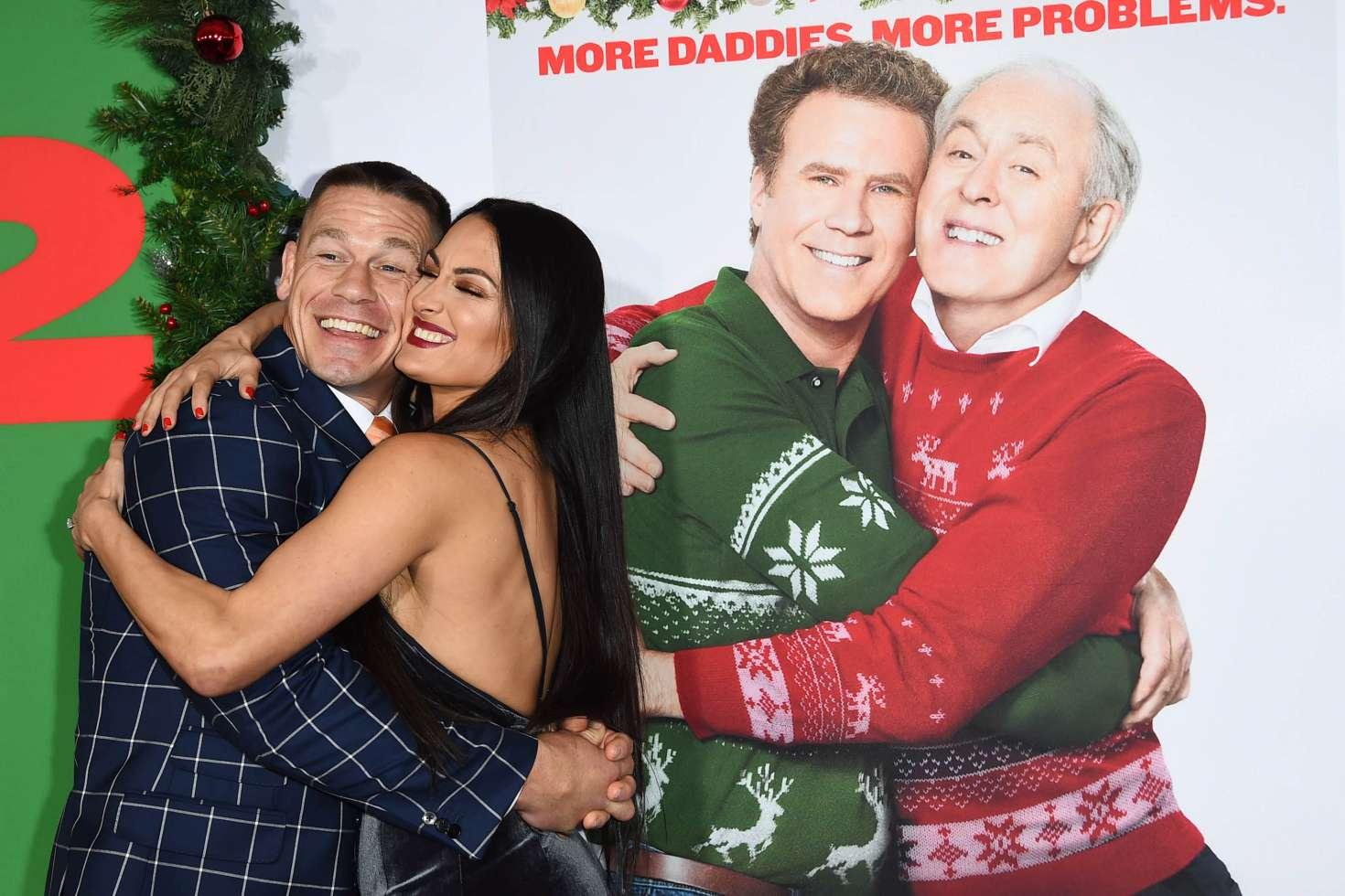 Nikki Bella and John Cena: Daddys Home 2 Premiere -32 – GotCeleb