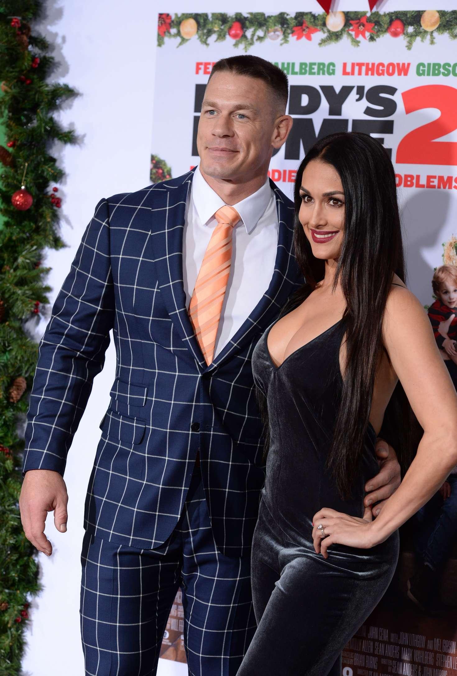 Nikki Bella and John Cena: Daddys Home 2 Premiere -35 - GotCeleb