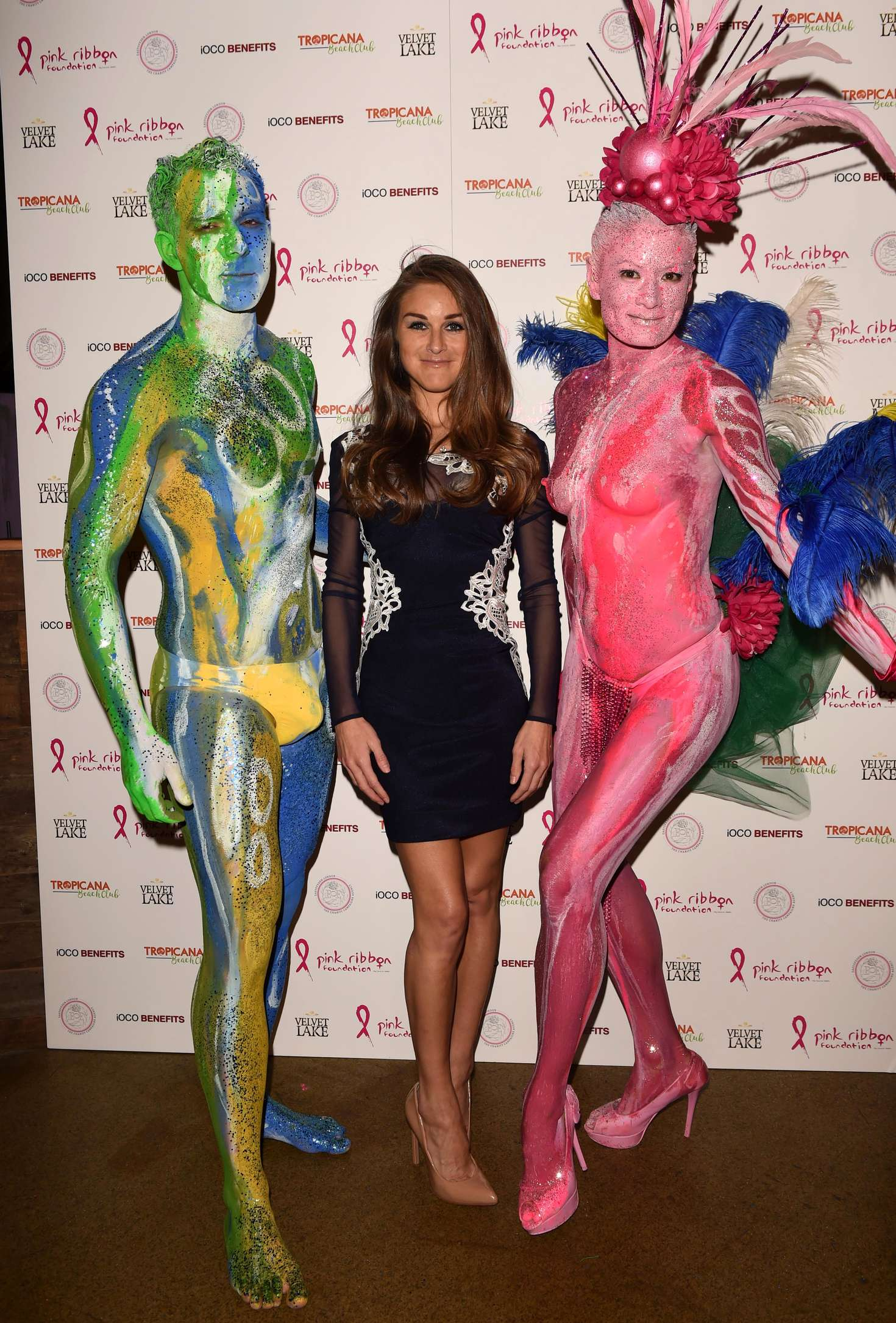 Nikki Grahame - Pink London Party at Tropicana Beach Club in London