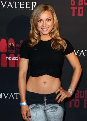 Nikki Leigh - '6 Bullets To Hell' Premiere in Los Angeles