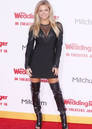 """Nikki Leigh - """"The Wedding Ringer"""" Premiere in Hollywood"""