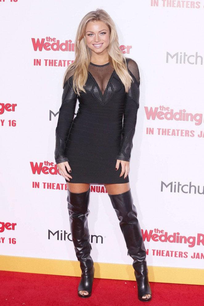 "Nikki Leigh - ""The Wedding Ringer"" Premiere in Hollywood"