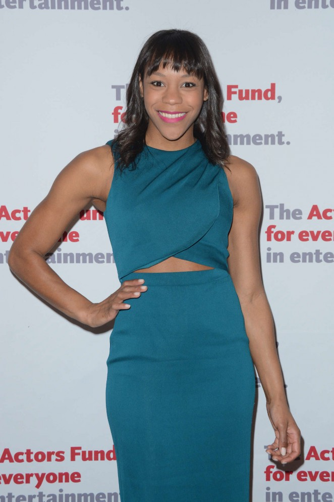 Nikki M. James - The Actors Fund 2016 Gala in New York