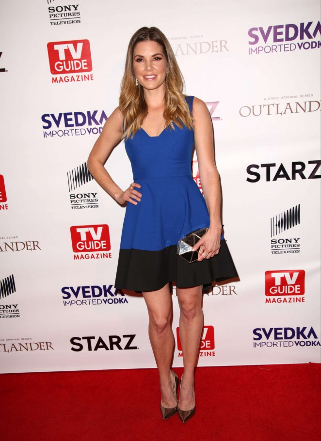 Nikki Moore - TV Guide Magazine and STARZ Celebration of OUTLANDER in West Hollywood
