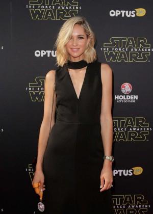 Nikki Phillips - 'Star Wars: The Force Awakens' Premiere in Sydney