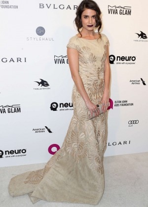 Nikki Reed - 2016 Elton John AIDS Foundation's Oscar Viewing Party in West Hollywood