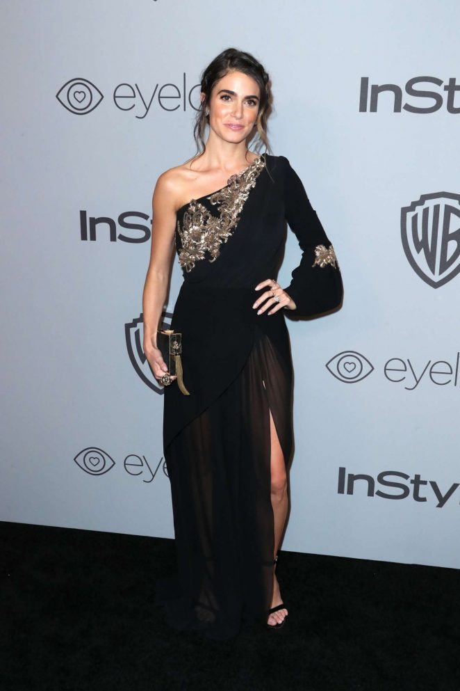 Nikki Reed: 2018 InStyle and Warner Bros Golden Globes After Party -01