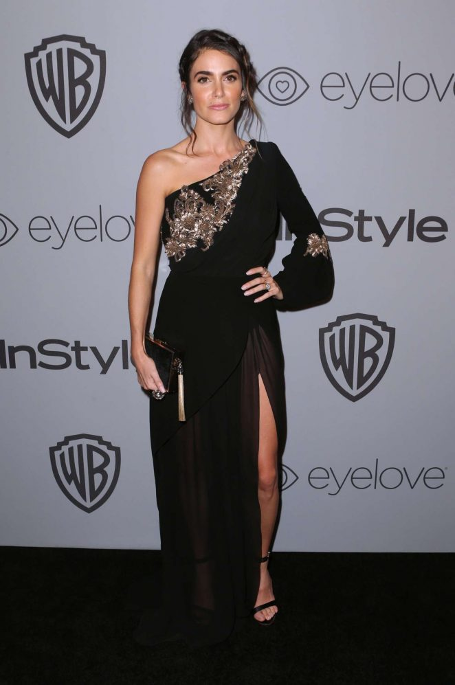 Nikki Reed: 2018 InStyle and Warner Bros Golden Globes After Party -02
