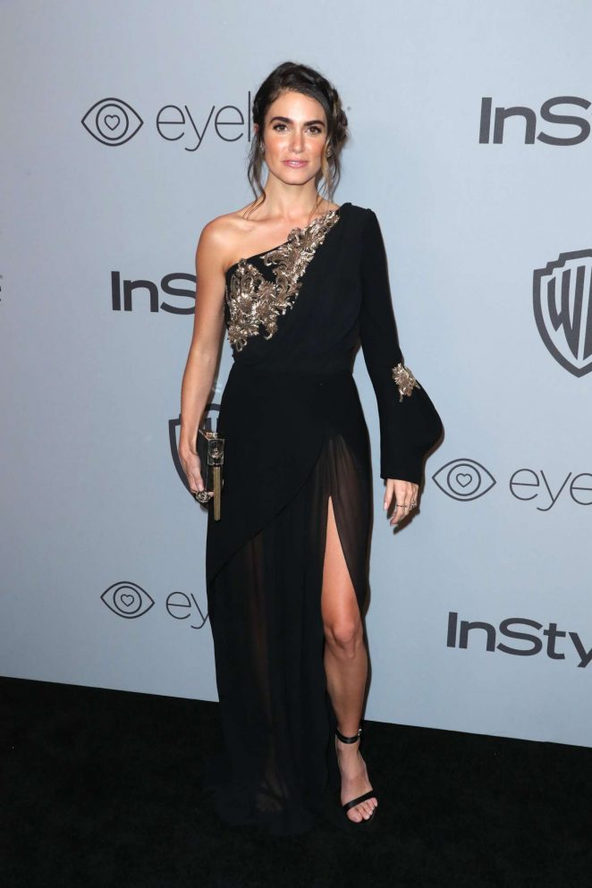 Nikki Reed: 2018 InStyle and Warner Bros Golden Globes After Party -05