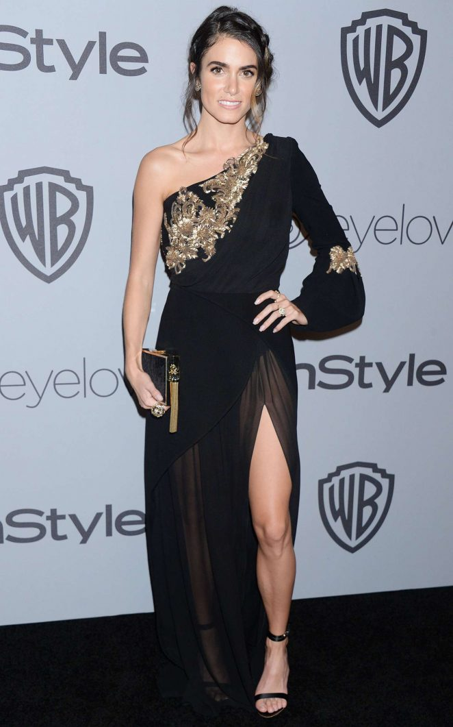 Nikki Reed: 2018 InStyle and Warner Bros Golden Globes After Party -09