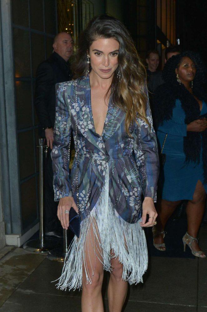 Nikki Reed - Arrives at Giorgio Armani Pre Oscars Party in LA
