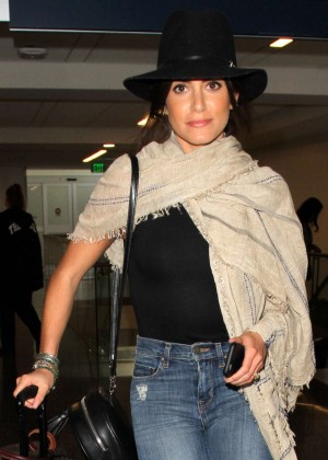 Nikki Reed - Arrives at LAX Airport in Los Angeles