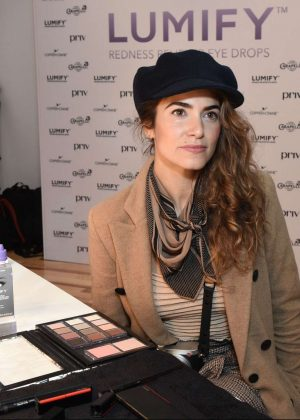 Nikki Reed - Beauty Bar featuring LUMIFY Redness Reliever Eye Drops in NY