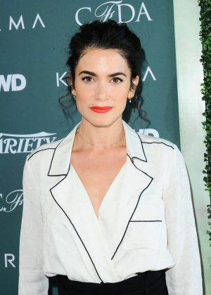 Nikki Reed - CFDA Variety and WWD Runway to Red Carpet in LA