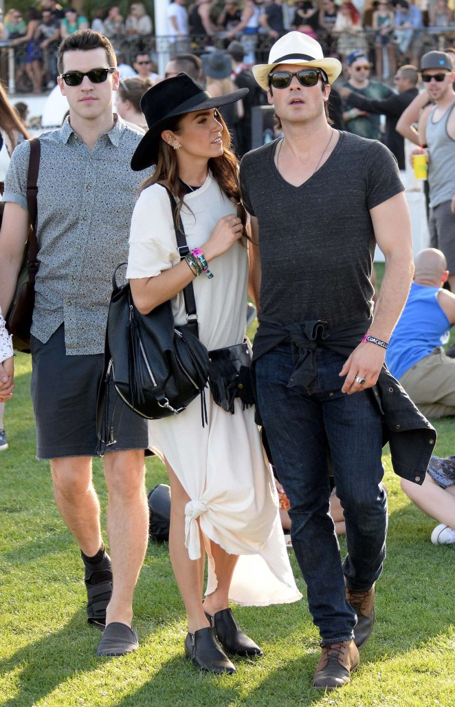 Nikki Reed - Coachella Valley Music and Arts Festival Day 2 in Indio