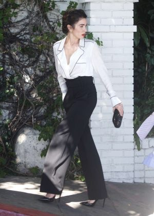 Nikki Reed - Leaving the CFDA Luncheon in Los Angeles