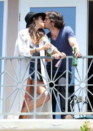 Nikki Reed - Malibu Beach House Private Party