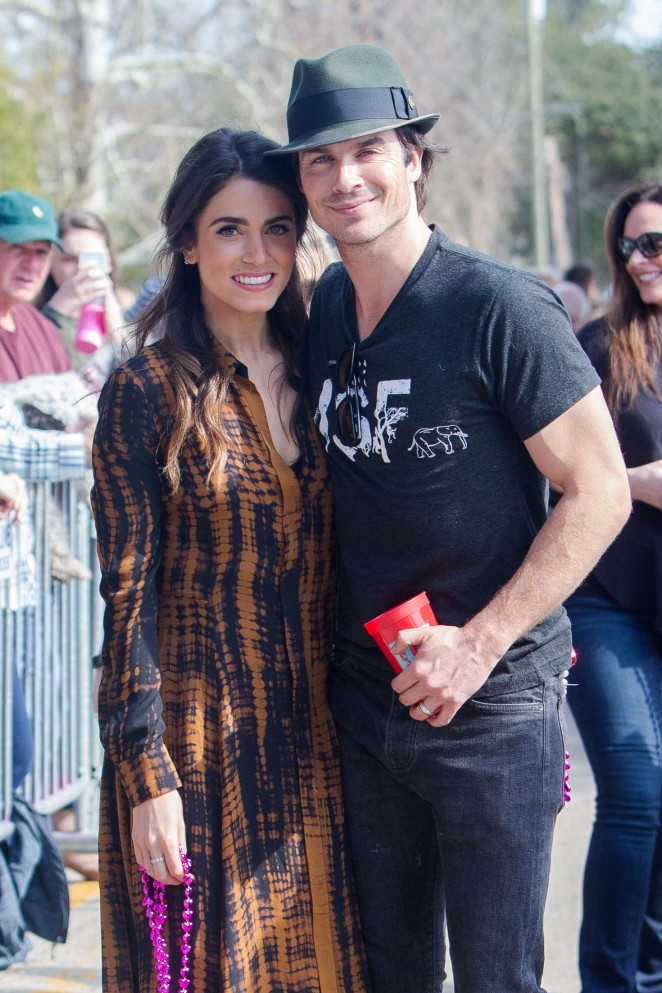 Nikki Reed - Mardi Paws Animal Charity Event in Mandeville