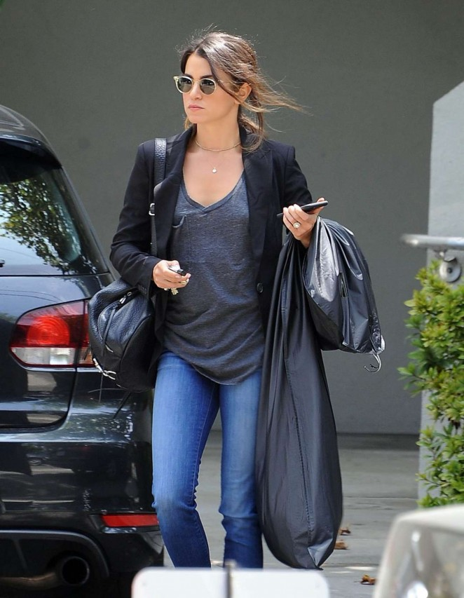 Nikki Reed in Jeans out in West Hollywood