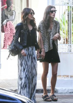 Nikki Reed & Phoebe Tonkin - Fasano Hotel in Rio de Janeiro