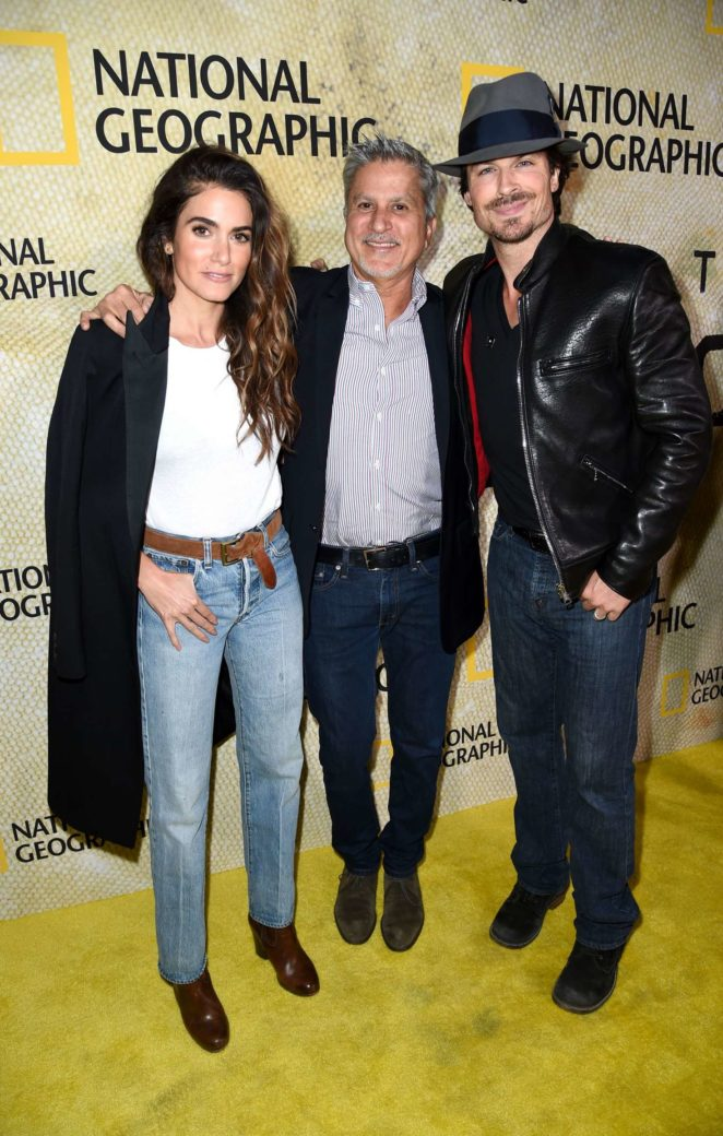 Nikki Reed - 'The Long Road Home' Premiere in Los Angeles