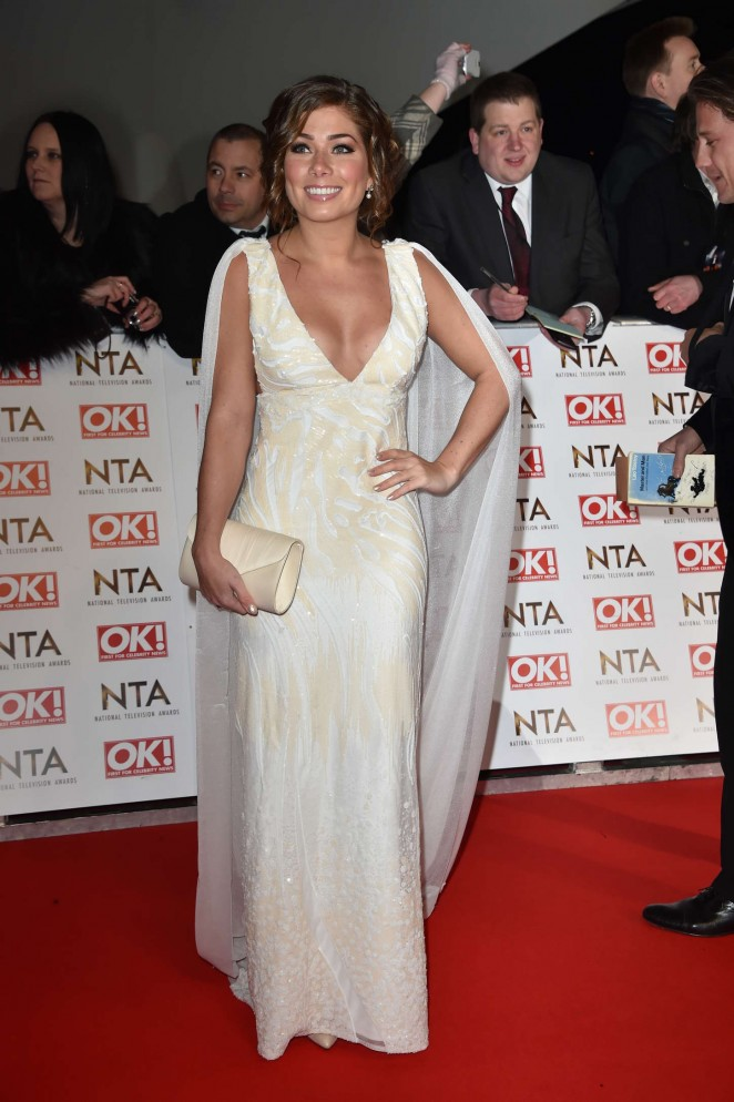Nikki Sanderson - 2015 National Television Awards in London