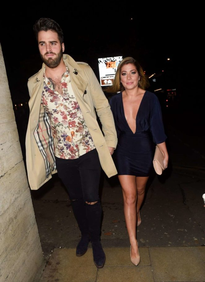 Nikki Sanderson and Greg Whitehirst out in Manchester
