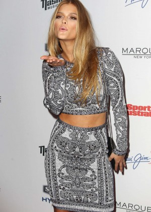 Nina Agdal - 2015 Sports Illustrated Swimsuit Issue Celebration in NYC