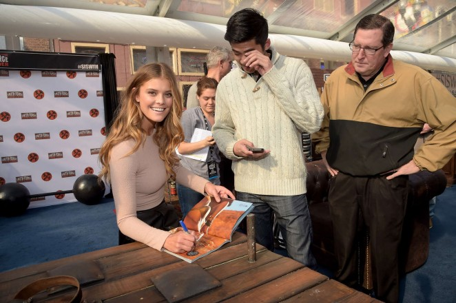 Nina Agdal – 2015 Sports Illustrated Swimsuit's 'Swimville' Takes Over Nashville! in Nashville