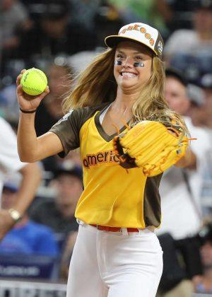 Nina Agdal - 2016 MLB All-Star Legends & Celebrity Softball Game in San Diego
