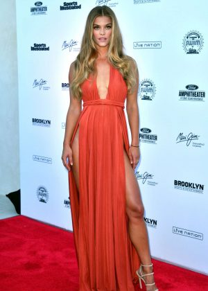 Nina Agdal: 2016 Sports Illustrated Swimsuit Summer of Swim Concert in Coney Island-01