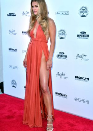 Nina Agdal: 2016 Sports Illustrated Swimsuit Summer of Swim Concert in Coney Island-03