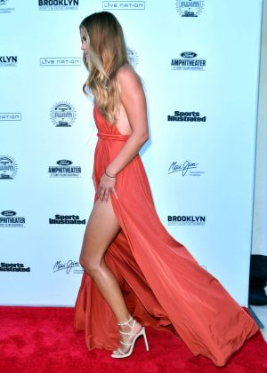 Nina Agdal: 2016 Sports Illustrated Swimsuit Summer of Swim Concert in Coney Island-04