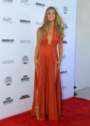 Nina Agdal: 2016 Sports Illustrated Swimsuit Summer of Swim Concert in Coney Island-06