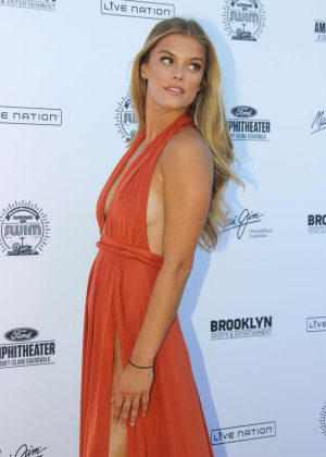 Nina Agdal: 2016 Sports Illustrated Swimsuit Summer of Swim Concert in Coney Island-10