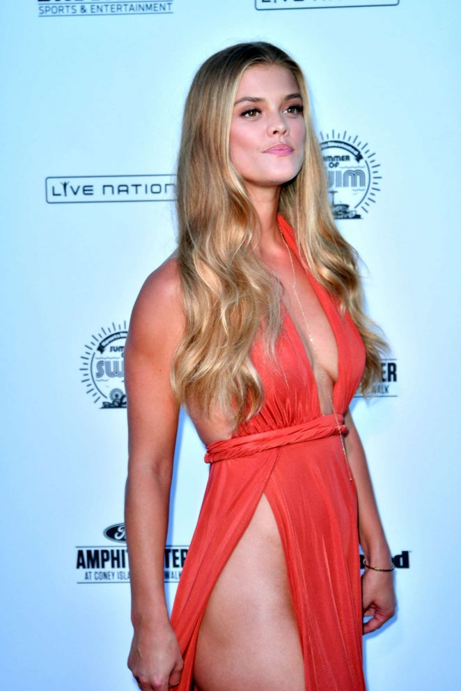 Nina Agdal - 2016 Sports Illustrated Swimsuit Summer of Swim Concert in Coney Island