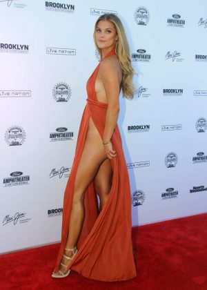 Nina Agdal: 2016 Sports Illustrated Swimsuit Summer of Swim Concert in Coney Island-14