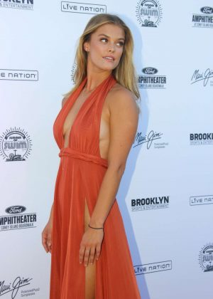 Nina Agdal: 2016 Sports Illustrated Swimsuit Summer of Swim Concert in Coney Island-15