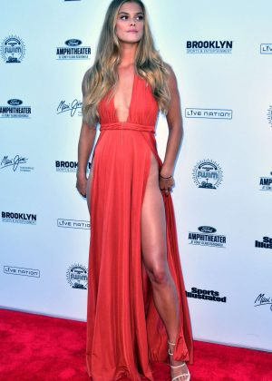 Nina Agdal: 2016 Sports Illustrated Swimsuit Summer of Swim Concert in Coney Island-16