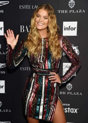 Nina Agdal - 2018 Harper's Bazaar ICONS Party in New York