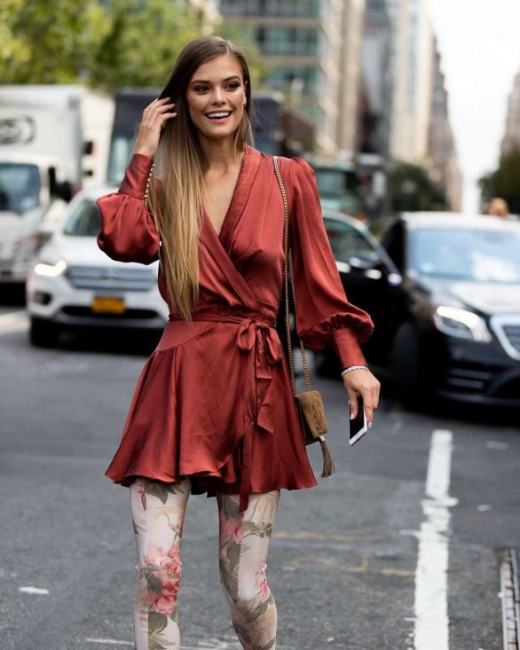 Nina Agdal - 2019 New York Fashion Week