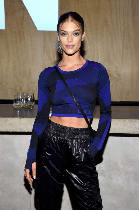 Nina Agdal - 30th anniversary of DKNY Party in NYC