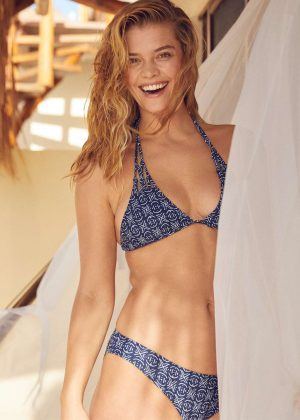 Nina Agdal - Aerie Swimwear Collection 2018