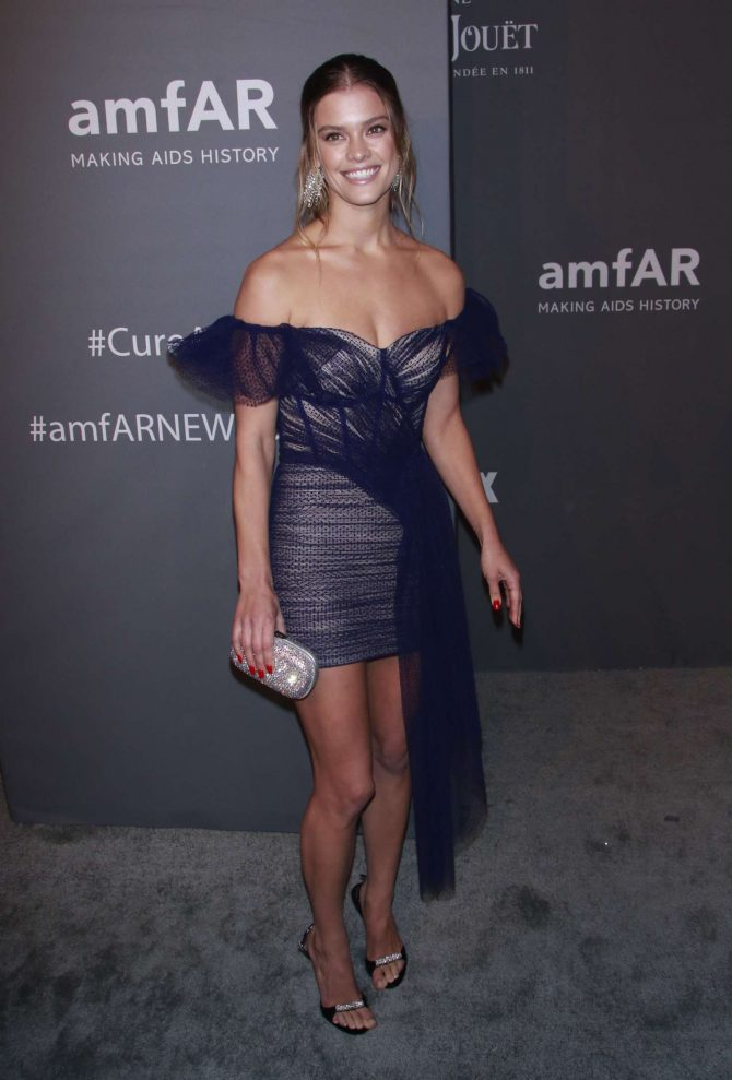 Nina Agdal – amfAR New York Gala 2019 in NYC